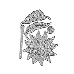 Flowers Cards Cover Decor Metal Cutting Dies Stencils for DIY Scrapbook Album XJ