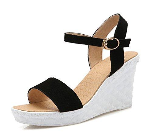 sandales a talons hauts avec plate-forme courtes decontractees chaussures a talons hauts de mariage chaussures bout ouvert bottines AO7VQjf