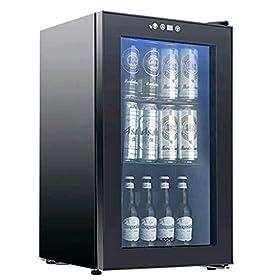 KUPPET 80-Can Beverage Cooler and Refrigerator, Sm...