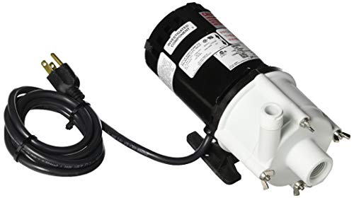LITTLE GIANT 2-MD 510 GPH-Magnetic Drive Pump, 6' Power Cord (580002) ()