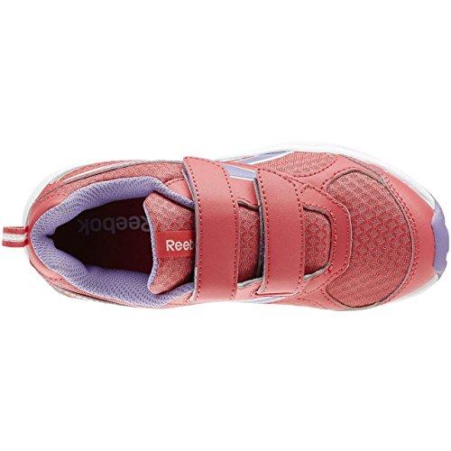 Reebok Almotio Rs 2v, Zapatos de Primeros Pasos para Bebés Rosa / Amarillo / Blanco (Fearless Pink/Smokey Violet/Wht)