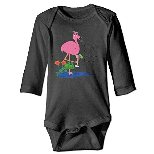 Price comparison product image PMsunglasses Funny Pink Flamingo Newborn Babys Long Sleeve Jumpsuit Outfits