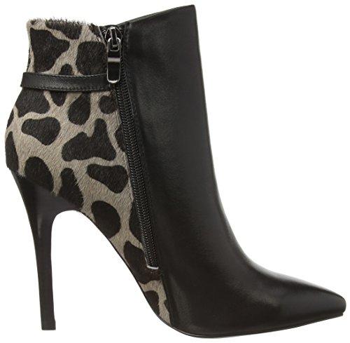 Tosca Blu VIPER - zapatos de tacón cerrados de cuero mujer negro - Schwarz (C99)