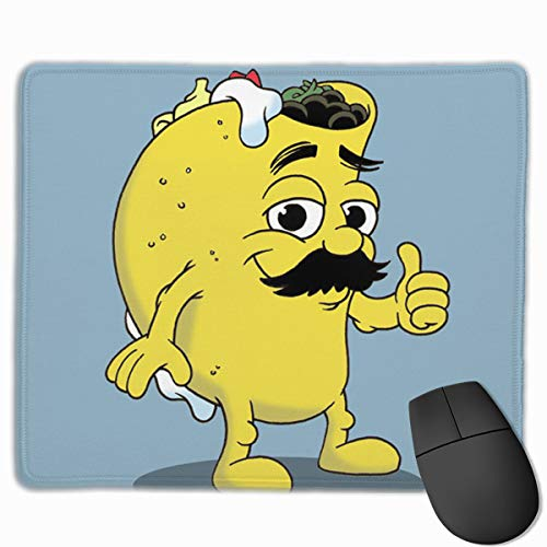 Smooth Mouse Pad Taco Dude Cartoon Mobile Gaming Mousepad Work Mouse Pad Office Pad]()