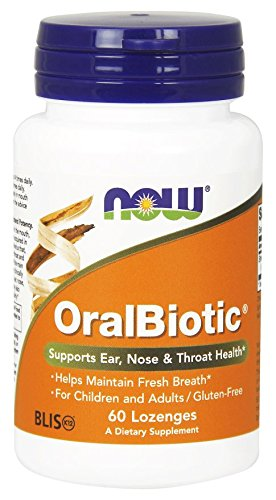 Now Foods Oralbiotic Blis K12  Pack Of 2 60 Count Each 120 Count Total