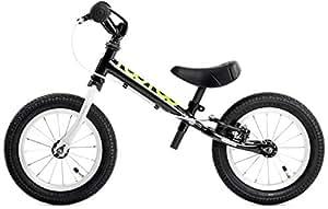 "TooToo 12"" Balance Bike by Yedoo Age 2-5 (Black)"