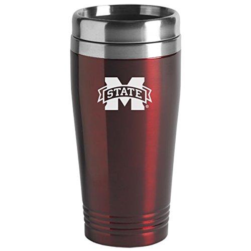 UPC 846911019645, Mississippi State Univerty - 16-ounce Travel Mug Tumbler - Burgundy