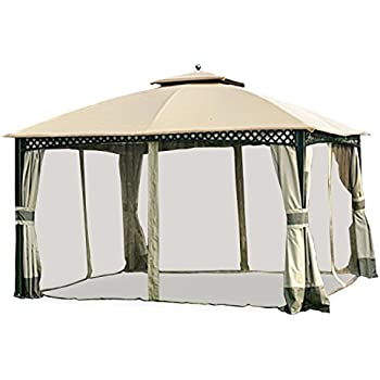 Garden Winds Replacement Canopy For The Windsor Dome Gazebo   350
