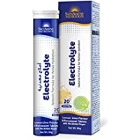 SUNSHINE NUTRITION Isotonic Electrolyte Effervescent, 20 Tablets