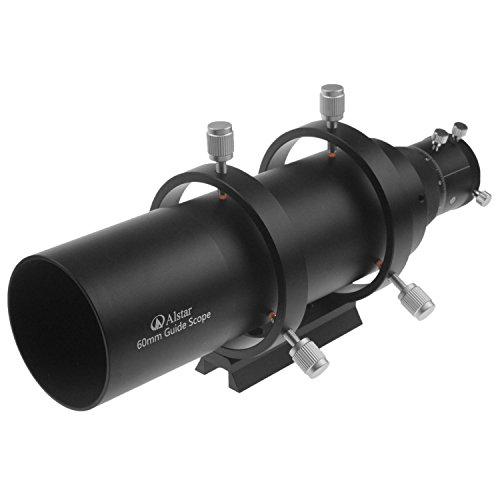 """Alstar 60mm Compact Deluxe Finder & Guidescope Kit with 1.25"""" Double Helical Focuser"""