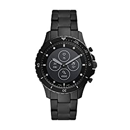 Fossil Men's FB Fossil Blue Hybrid Smartwatch HR with Always-On Readout Display, Heart Rate, Activity Tracking…