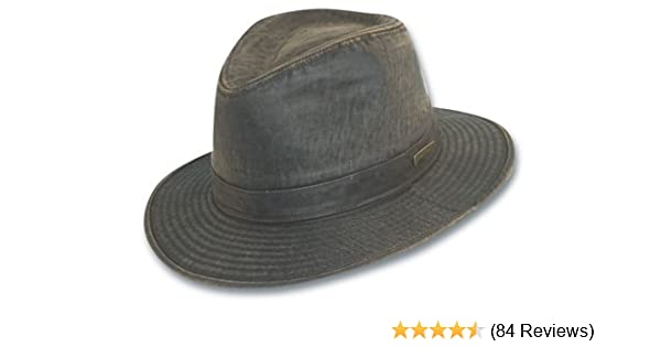 Dorfman Pacific Men s Indiana Jones Weathered Cotton Hat at Amazon Men s  Clothing store  Fedoras 1cccf70288f8