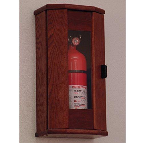 FixtureDisplays Fire Extinguisher Cabinet - 5 lb. capacity 104208 by FixtureDisplays