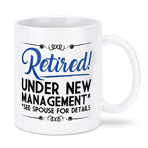 Seorsok Funny Retirement Gifts Gag for Men Women Dad Mom Valentines Day Husband Wife Boyfriend Humorous Retirement Coffee Mug Gift Retired Mugs for Coworkers Office & Family Unique Novelty Ideas