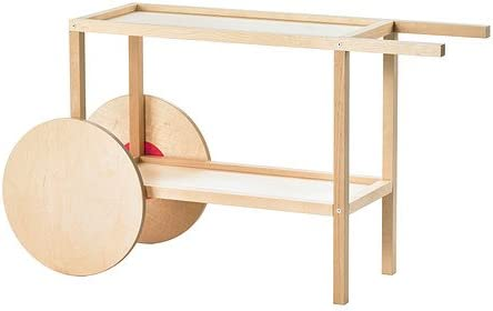 IKEA Trendig 2013 - Mesa auxiliar, abedul - 120x66 cm: Amazon.es ...