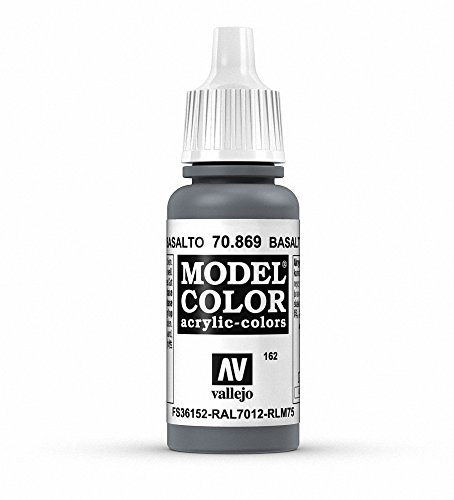 Vallejo Basalt Grey Paint, 17ml