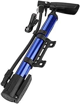 WYFDM Inflador Alta Presión Bicicleta Bomba Manual Mini portátil ...