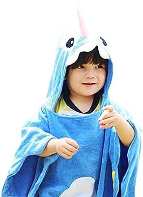 Baby Handtuch Breathable Warm Kinder Strandponcho Polygonal Dinosaurier Grün