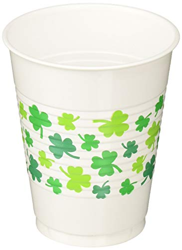 St Patricks Day Cups (Amscan 420142 party accessory, 16 oz,)