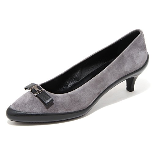 Hogan 65928 decoolete FIOCCO Ballerina Grigio Women Scarpa Donna Shoes BBwqrzd
