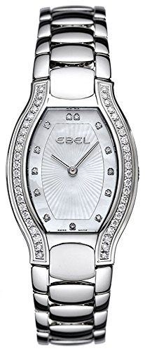 Ebel Women's 9656G28/9991070 Beluga Tonneau Mother-Of-Pearl Diamond Dial Watch