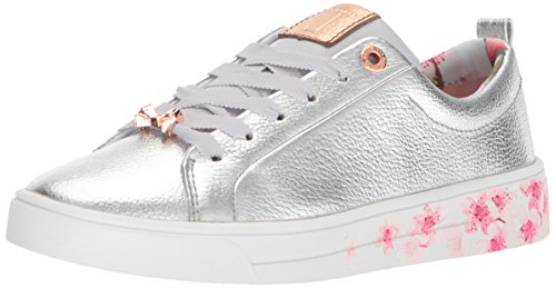 release dates cheap price cheap sale fast delivery Ted Baker Women's Kellei Sneaker Silver/Blossom Print choice online Pwd99OJfM