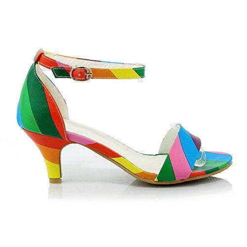 1TO9, Sandales Pour Femme - Multicouleur - Multicolore, 38