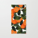 The Forbidden Orange #society6 #decor #buyart Beach Towel by The Design Label™ | Society6