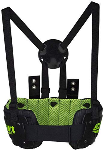 Schutt Sports Youth Football Rib Protector, Neon Green, Small