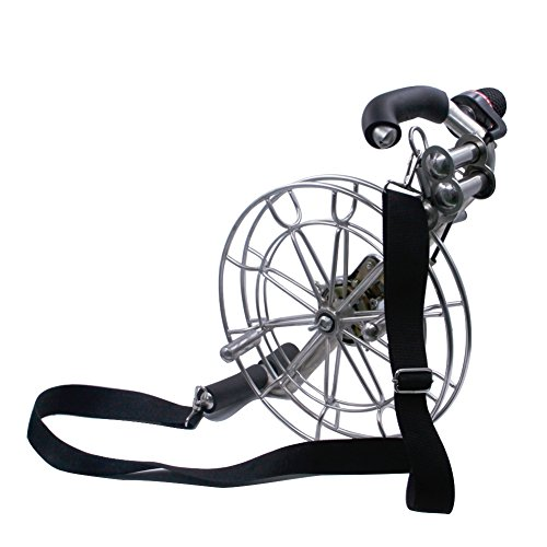 EMMAKITES 11''/28cm Stainless Kite Winder with Brake Control Design Strap Attached for Comfort and Convenience Large Kite or Parafoil Flying Experience by Emmakites