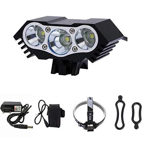 Muranba T6 LED Front Bike Light Bicycle Headlight Headlamp Waterproof Cycling Camping Fi