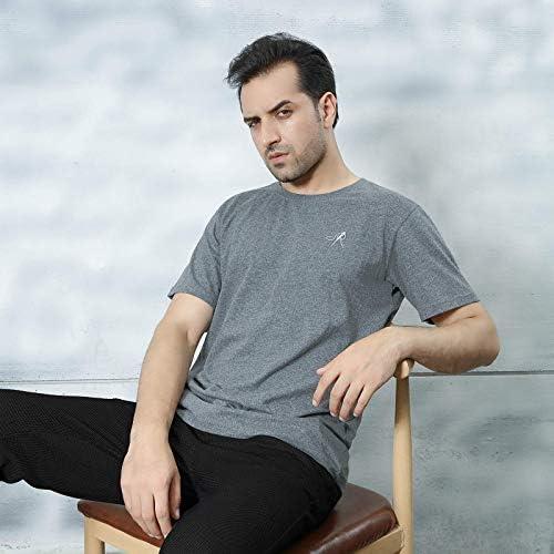 41k2In4U 7L. AC POPINDEX T Shirts for Men Short Sleeve Tee Undershirt (100% Cotton)    Product Description