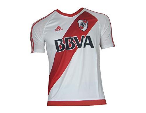 adidas 2016-2017 River Plate Home Football Soccer T-Shirt Jersey