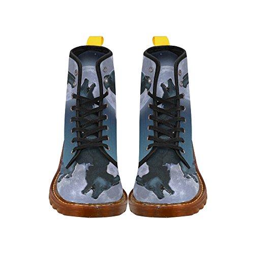 Leinterest Lobo Martin Botas Zapatos De Moda Para Hombres