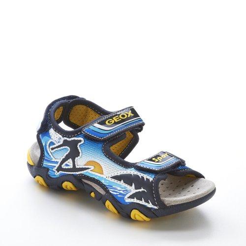 Geox - Sandalias de vestir para niño turquesa - Türkis/Bunt