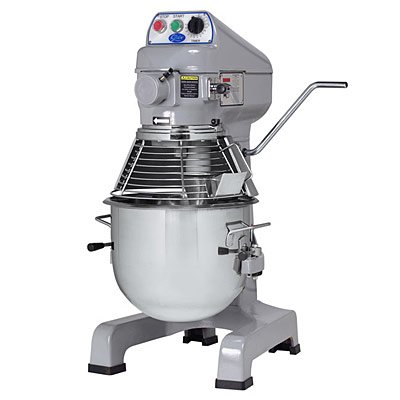 Globe Food SP20 3-Speed 20 Qt Planetary Mixer with Ingredient (20 Quart Planetary Mixer)