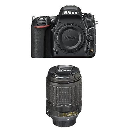 Amazon.com : Nikon D750 FX-Format DSLR Camera with 18-140mm Lens ...