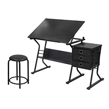 STUDIO DESIGNS Eclipse Craft Center in Black / Black 13365