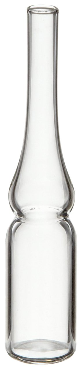 Wheaton 651463 Borosilicate Glass 1.2mL Cryule Cryogenic Ampule (Case of 144)