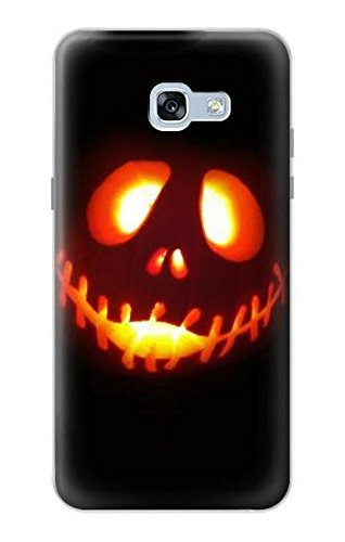 R2335 Halloween Jack Pumpkin Carving Case Cover For Samsung Galaxy A5 (2017) ()