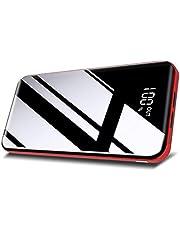 Todamay Powerbank, 26800 mAh bärbar laddare universellt externt batteripaket med höghastighetsladdning för smarttelefoner surfplatta