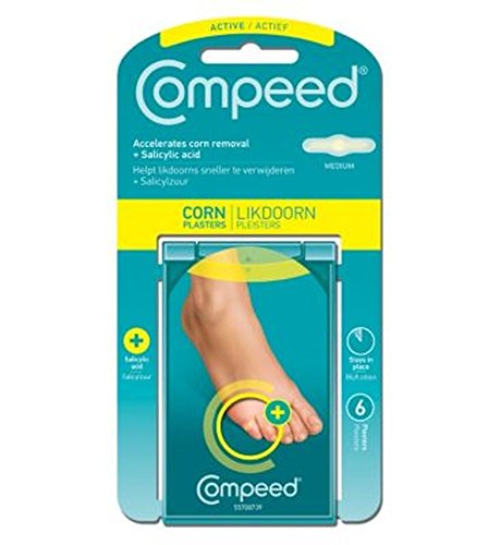 Compeed Corn Active Plasters 6Pack - Pack of 2