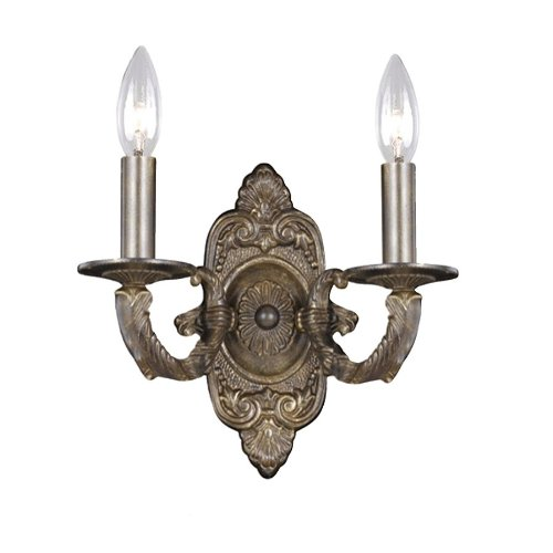 (Paris Flea 2 Light Sconce)