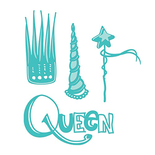 Spellbinders JDD-025 Queen for a Day from Artomology by Jane Davenport Etched/Wafer Thin Dies Teal