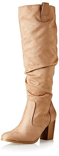 Kenneth Cole REACTION Women's Lady Sway Boot, Natural, 6 M US (Cole Womens Natural Kenneth Reaction)