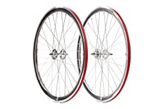 State Bicycle unmachined deep-wheels feature: 700c rim size with a 40mm rim depth front and rear new sealed bearing 32H x 14g hubs rear is a flip-flop hub with a 16T (16 tooth) fixed cog only. Included a high-quality nylon rim Strip to protec...