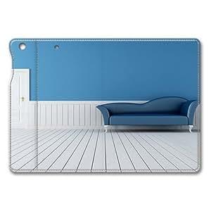 3D Modern Sofa iPad Air Smart Cover Leather