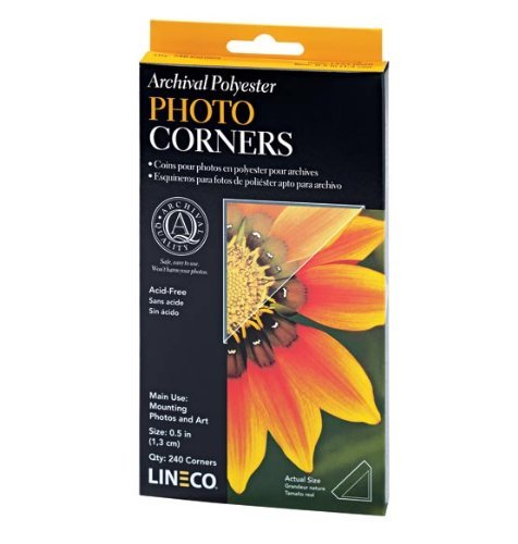 Self-Adhesive Clear Photo Corners by Exposures