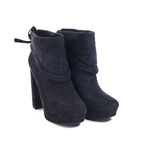 Jeffrey Campbell - Zapatos de vestir de Piel para mujer negro negro * negro