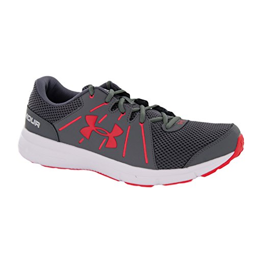 Under Armour Men's Dash Rn 2 Gph/Wht/Pom Running Shoe 11.5 Men US 1285671-040